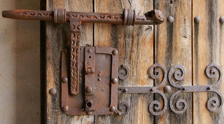 Cerradura medieval